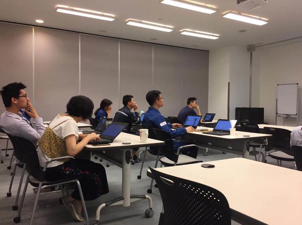 2018年5月28-29日四硕走进埃克森美孚公司成功提供OFFICE-EXCEL&PPT企业培训