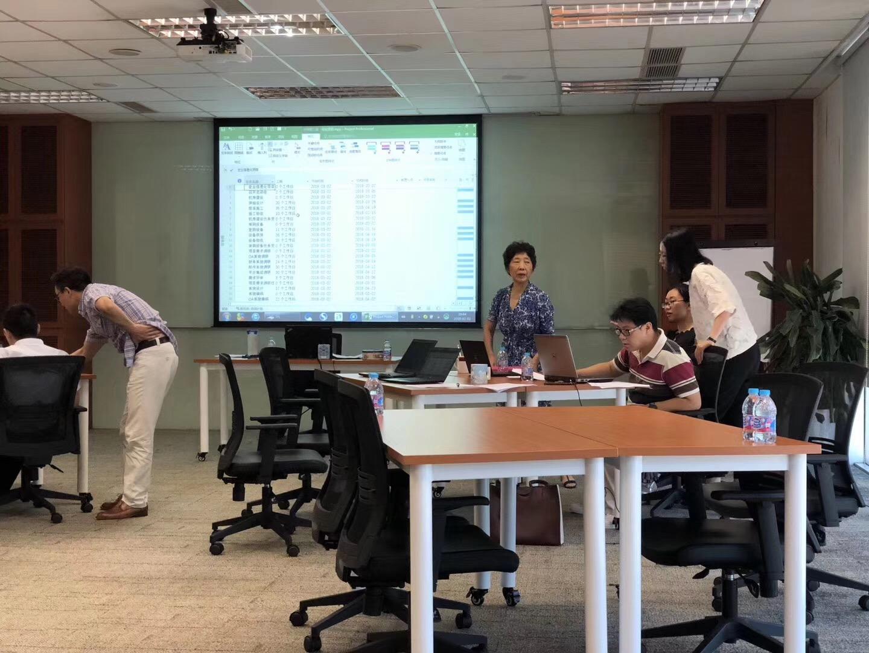 """2018年8月23日四硕成功为艾默生公司提供""""Project项目管理软件""""企业定制培训"""
