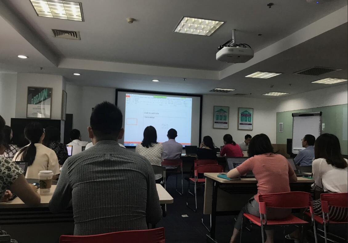 2018年9月5日四硕再次走进贝朗医疗集团提供PowerPoint商务应用培训