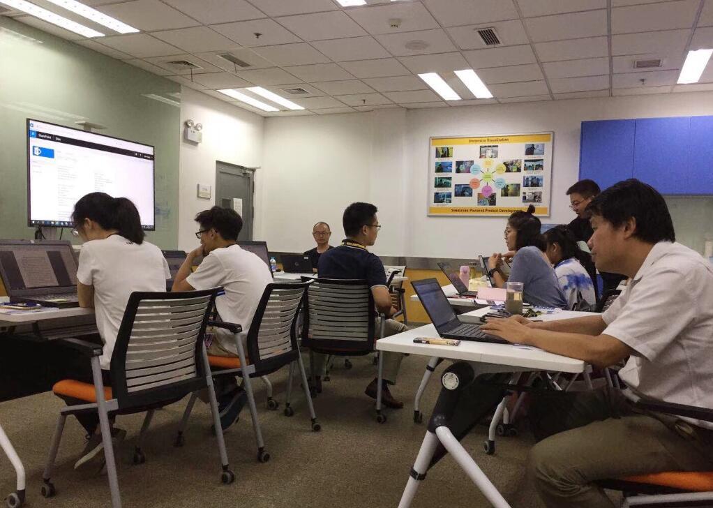 2018年7月26日四硕走进无锡卡特彼勒提供SharePointon online开发企业内训
