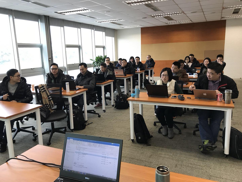 2018年1月26日 四硕走进艾默生提供Office365企业级培训