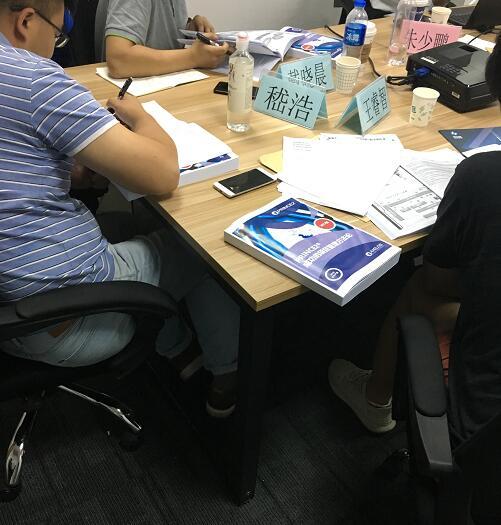 2018年9月8-9日1809期PRINCE2项目管理认证班圆满结束